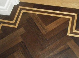 Parquet Flooring Essex Walnut And Wenge Blocks For